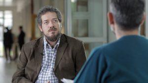 Foto de Diego de Charras, director de la carrera de Ciencias de la Comunicación de la Universidad de Buenos Aires